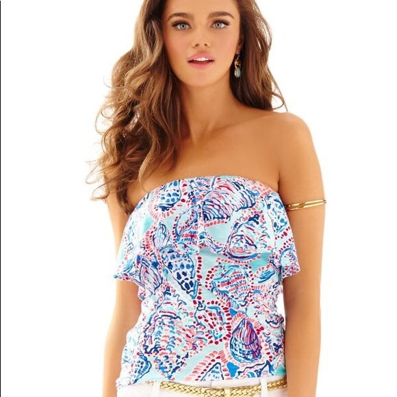 95811cd57c Lilly Pulitzer Tops - Lilly Pulitzer Tube Top